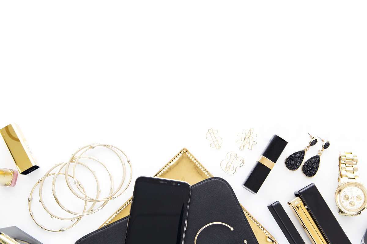 Oh Tilly Black and Gold Luxe 033