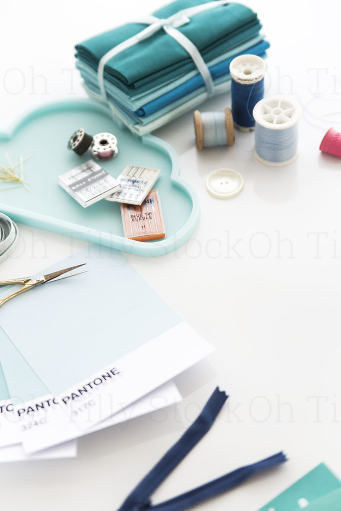 Styled Stock Photography for sewers and seamstresses 001