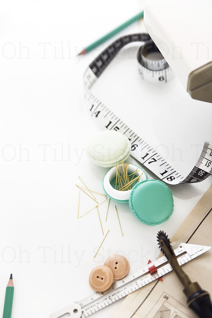 Styled Stock Photography for sewers and seamstresses 002