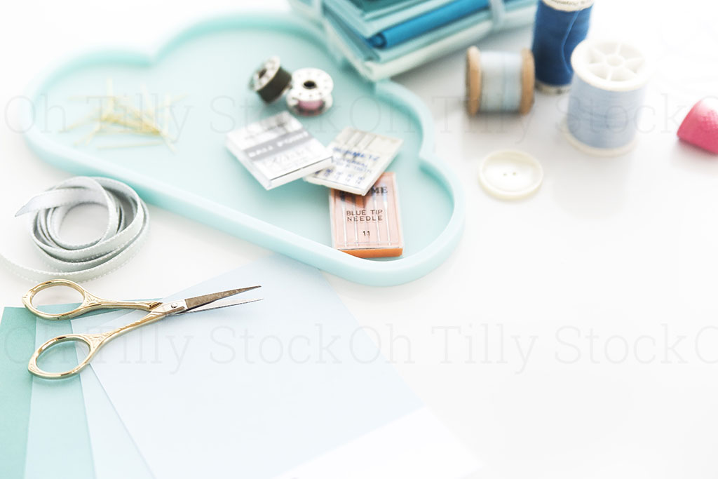 Styled Stock Photography for sewers and seamstresses 007