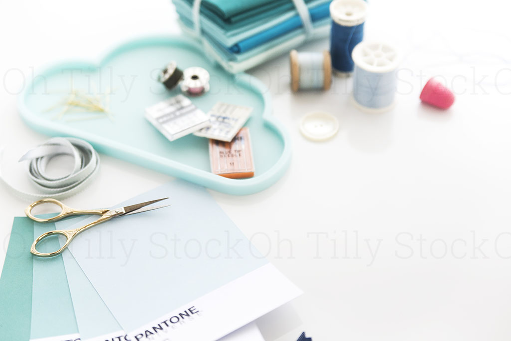 Styled Stock Photography for sewers and seamstresses 008