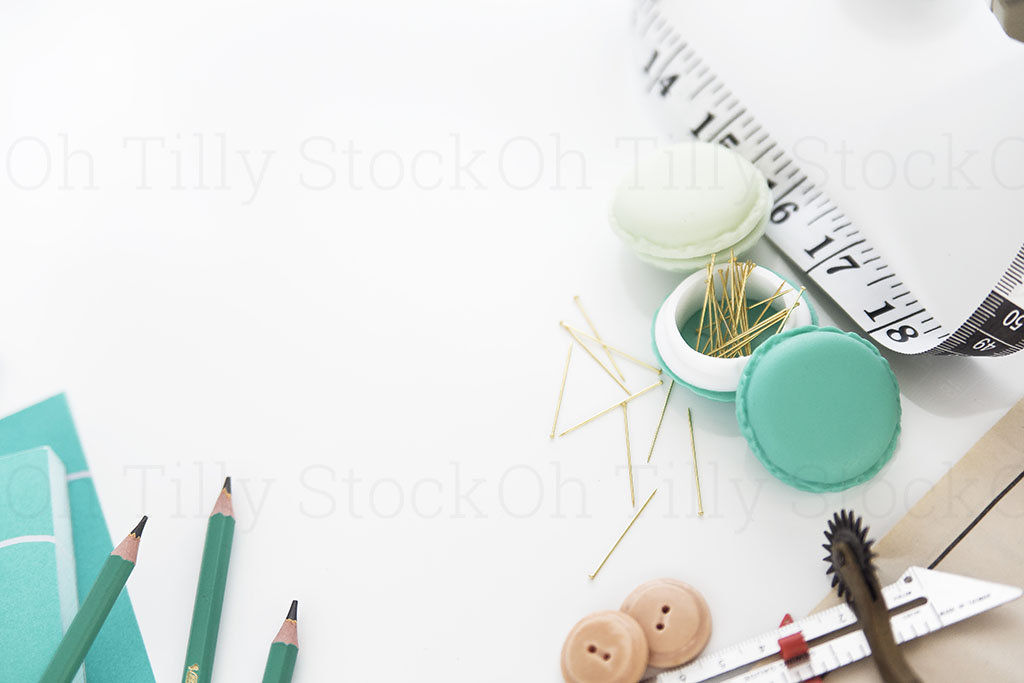 Styled Stock Photography for sewers and seamstresses 009