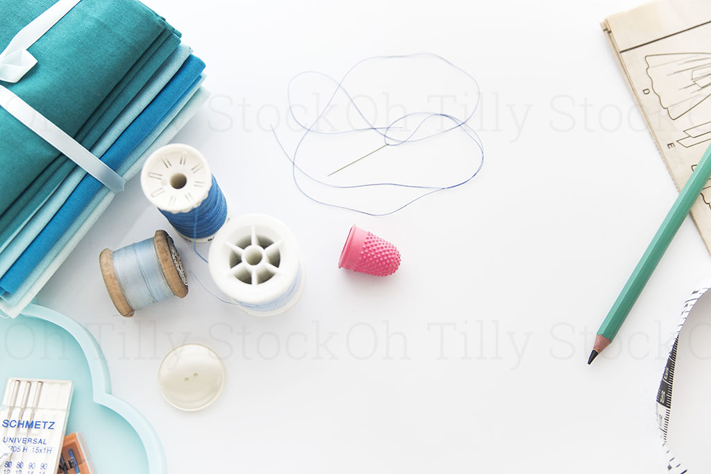 Styled Stock Photography for sewers and seamstresses 013