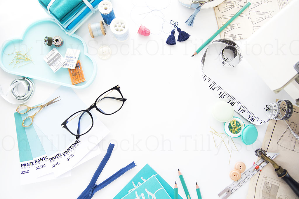 Styled Stock Photography for sewers and seamstresses 017