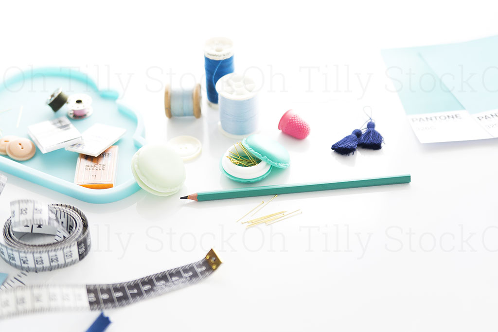 Styled Stock Photography for sewers and seamstresses 018