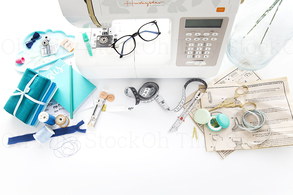 Styled Stock Photos for sewers and seamstresses 034