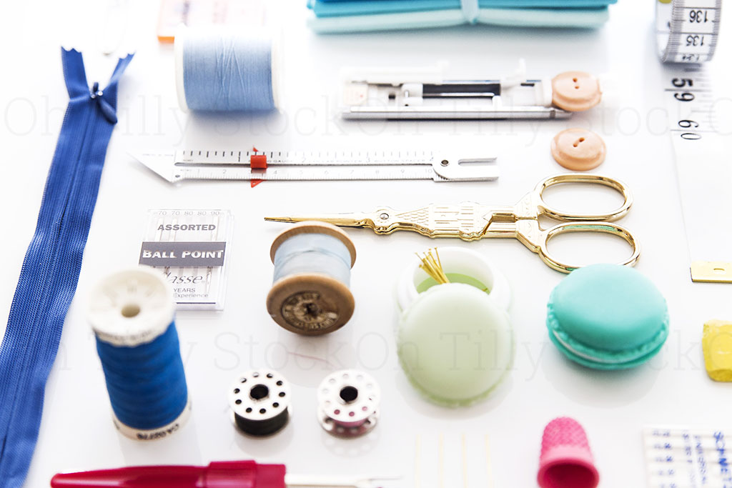 Styled Stock Photos for sewers and seamstresses 035