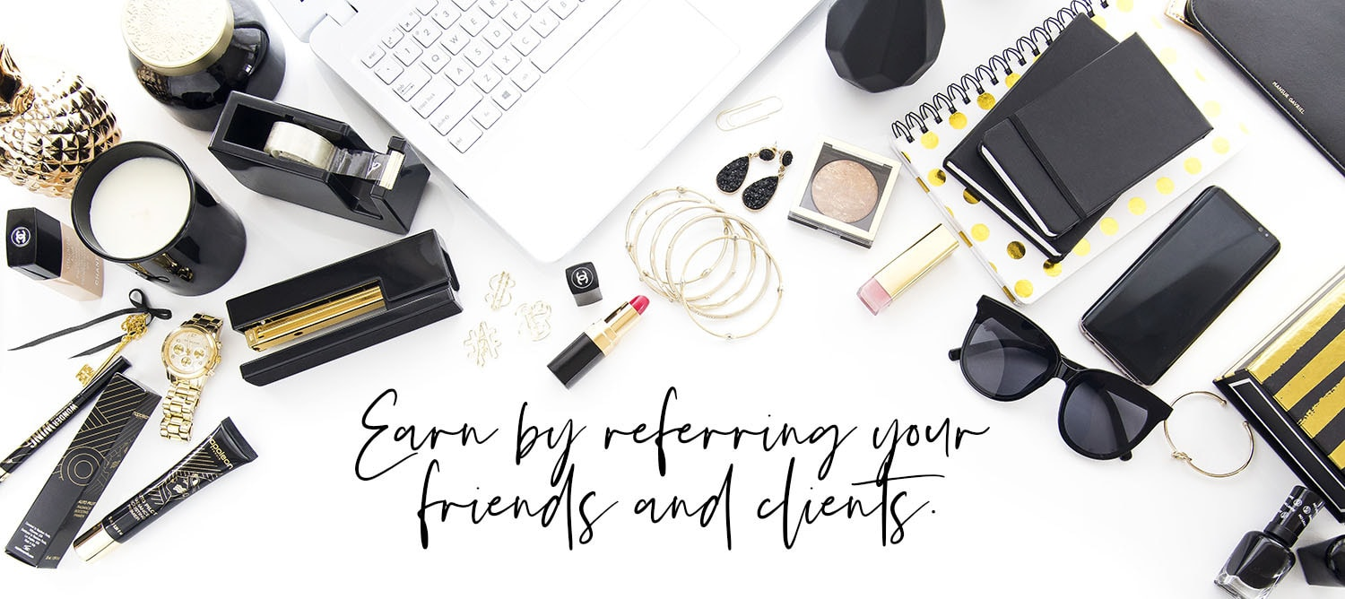 earn affiliate income for styled stock photography referrals to oh tilly